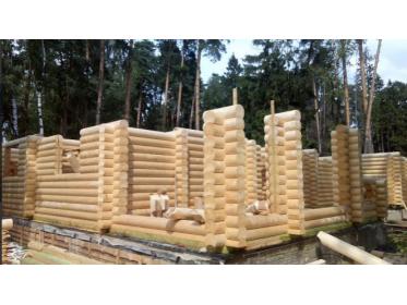 Акция! Выгодная цена на монтаж деревянного дома!