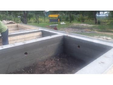 """Изготовление ленточного фундамента по проекту """"Белое озеро"""""""