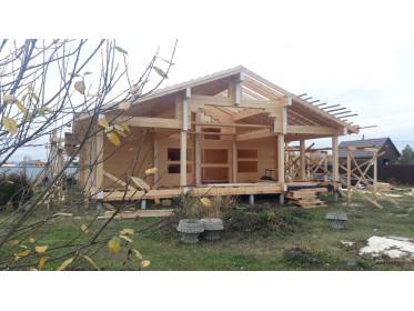 """Завершение строительства дома по проекту """"Фосфоритный"""""""