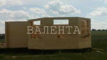Баня из профилированного бруса Голиково
