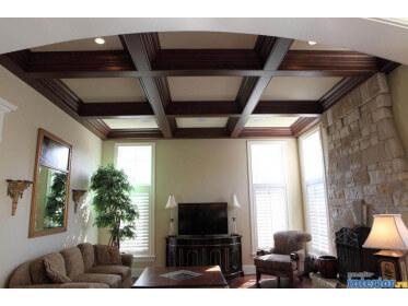 Внутренняя отделка деревянного дома: гипсокартон!