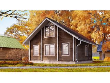 Строительство домов из бруса осенью